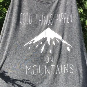 Urban outfitters good things happen tank top